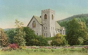Carroll, New Hampshire - Image: Joseph Stickney Memorial Chapel, Bretton Woods, New Hampshire