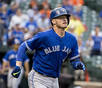 Josh Donaldson - Donaldson with the Toronto Blue Jays in 2015