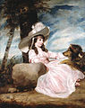 Joshua Reynolds, 'Portrait of Miss Anna Ward with Her Dog'.jpg