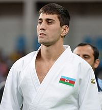 Judo at the 2016 Summer Olympics, Orujov vs Khamza 2.jpg