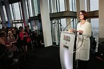 Julia Gillard, Chair of the board, Global Partnership for Education, speaking at the Global Citizen -SheWill event in the Shard, London, 7 July 2016.jpg