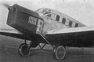 Junkers G 24 - Junkers F 24kay photo from L'Aérophile December,1929