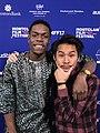 Justin Chon and Curtis Cook Jr. at Montclair Film Festival 2017, NJ.jpg