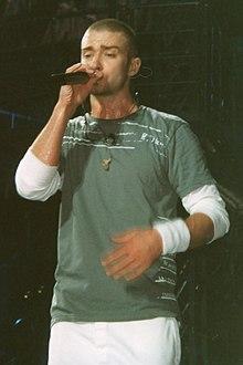 Justin Timberlake al Justified World Tour 2003