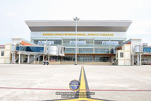 North Kalimantan - Image: Juwataairport 1