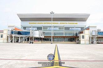 North Kalimantan - Image: Juwataairport 1