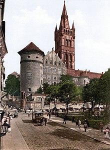 Königsberg Castelo antes da Primeira Guerra Mundial