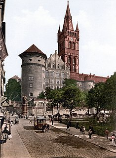 Königsberg capital city in Prussia