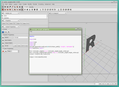 K-3D version 0.8.0.3 screenshot, python scripting example .png