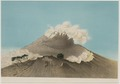 KITLV - 50H8 - Junghuhn, Franz Wilhelm (1809-1864) - Mieling, C.W. - Mount Merapi (Gunung Merapi) - Colour lithography - 1853-1854.tif