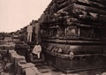 KITLV 155160 - Kassian Céphas - The southern stairs on the west side of the Shiva temple of Prambanan near Yogyakarta - 1889-1890.tif