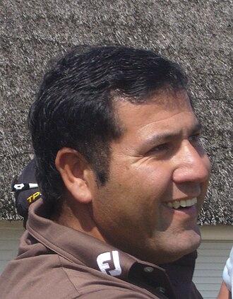 Ricardo González (golfer) - González at the 2009 Dutch Open