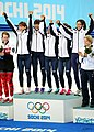 KOCIS Korea ShortTrack Ladies 3000m Gold Sochi 31 (12629368935).jpg