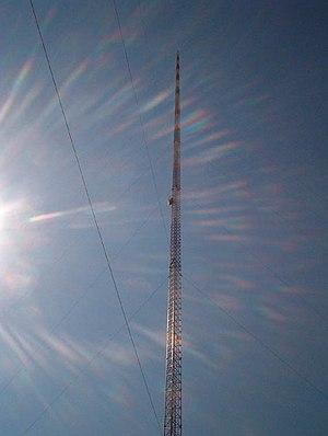 Blanchard, North Dakota - KVLY-TV mast seen close-up