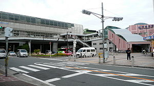 Kadoma-shi station south entrance.jpg
