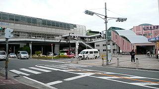Kadoma-shi Station railway station in Kadoma, Osaka Prefecture, Japan