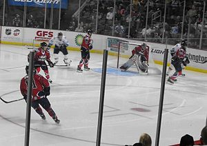 Kalamazoo Wings - On road October 2012 vs. Toledo Walleye.