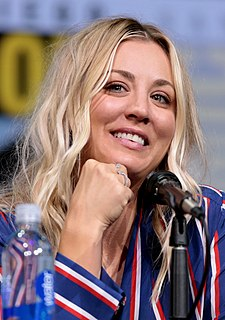Kaley Cuoco American film and television actress