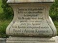 Kamenný kříž na návsi v Nevcehli (Q94433661) 03.jpg
