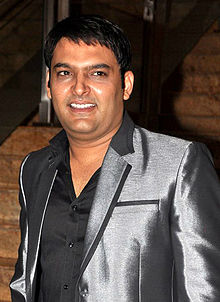 Kapil Sharma at the launch of Jai Maharashtra channel.jpg