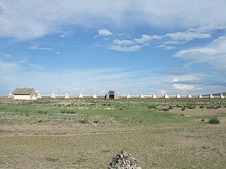 Erdene Zuu Monastery - Image: Karakorum