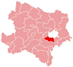 Bezirk Mödling location map
