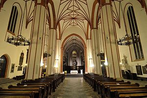 St. John's Archcathedral, Warsaw - Interior of cathedral