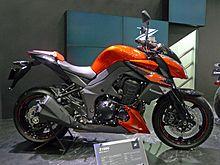 Kawasaki Z1000 Right Side 2011 Tokyo Motor Show