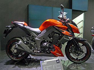 Kawasaki Z1000 - Kawasaki Z1000 right-side 2011 Tokyo Motor Show