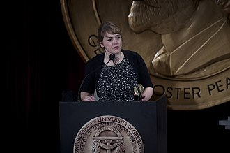 Kelly McEvers - McEvers at the 72nd Peabody Awards, 2013