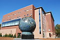 Kennesaw State Spaceship Earth and Social Science.JPG