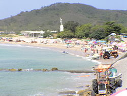 A beach in Kenting, Henchun