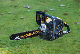 McCulloch Motors Corporation manufacturer of chainsaws