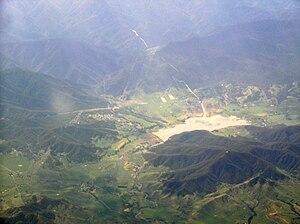 Khancoban - Image: Khancoban aerial