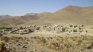 Markazi Province - Image: Kharpahlou, Village, Etymology