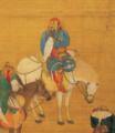 Khubilai Khan Hunting-Detail of a Falconer.png