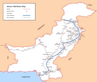 <i>Khyber Mail</i> (passenger train)