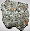 Kimberlite (Morin Kimberlite Pipe, Témiscamingue Kimberlite Field; gravel pit near Lac des Quinze, Témiscamingue County, Quebec, Canada) 2.jpg
