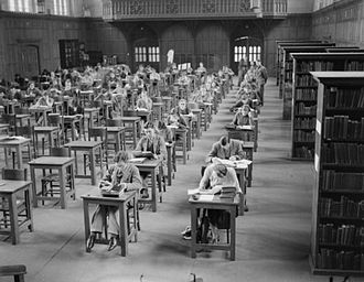 University of Bristol - Evacuated King's College London students at the University of Bristol in 1940