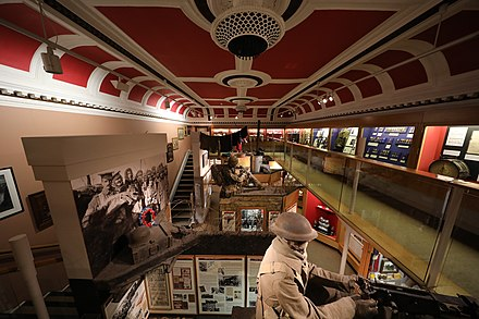 The interior of the King's Own Royal Regiment Museum King's Own Royal Regiment Museum.JPG