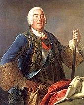 August III. von Pietro Antonio Rotari, 1755 (Quelle: Wikimedia)