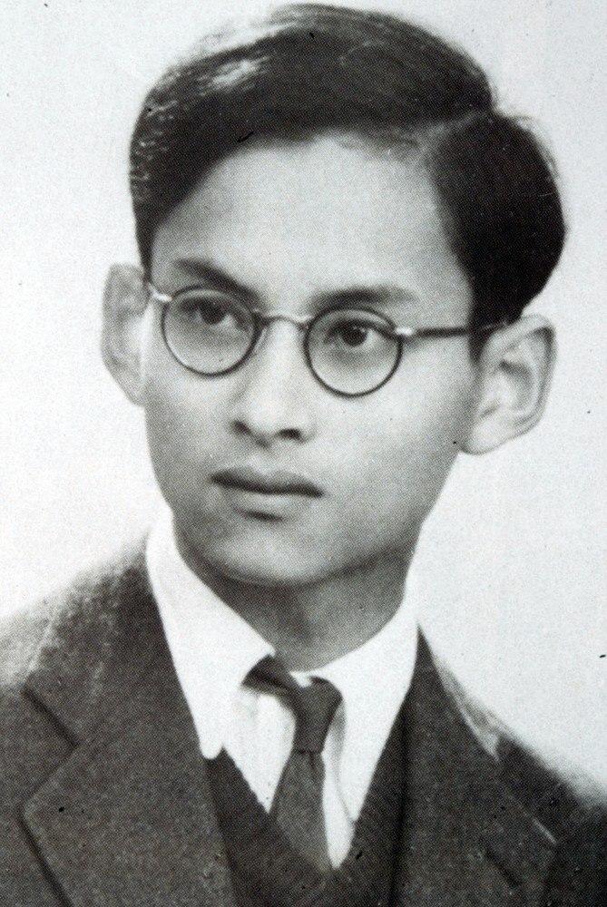 King Bhumibol Adulyadej Portrait-1945