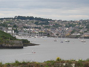 Kinsale - Image: Kinsale harbour 2