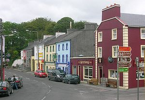Street of Kinvara, County Galway, Ireland