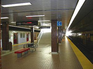 Kipling station - Image: Kipling interior