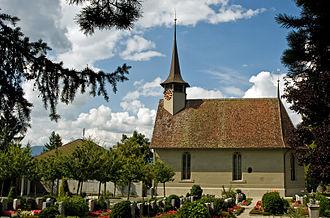 Bätterkinden - Bätterkinden village church