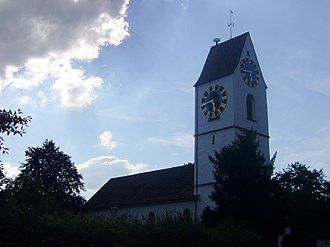 Bassersdorf - Image: Kirche Bassersdorf