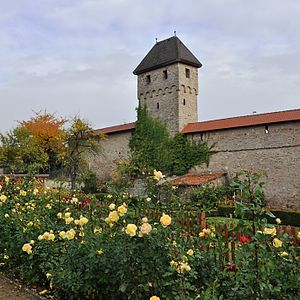 Kirchheimbolanden - Town walls with the Grey Tower