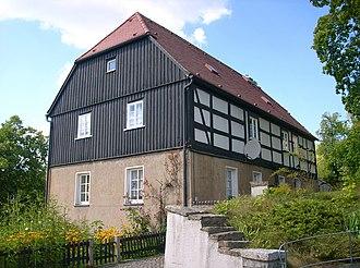 Oßling - Image: Kirchweg 2 Oßling