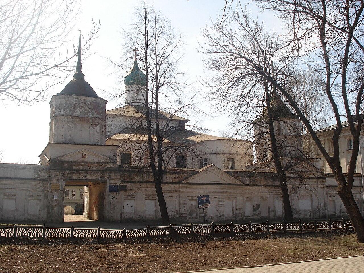 Кирилло-Афанасиевский монастырь в г. Ярославль